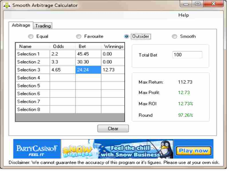 Arbitrage sports betting calculators