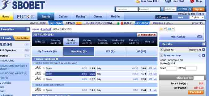 Who Needs Betfair To Lay The Draw?? Final Euro2012 Arb of the Week, w/c 1/7/2012