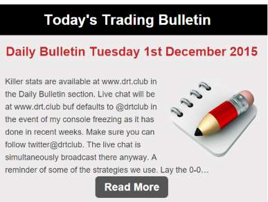 Delay React Trade - Daily Briefings
