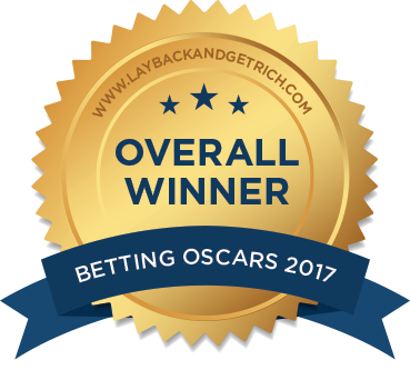 Betting System Oscars 2017 Overall Winner