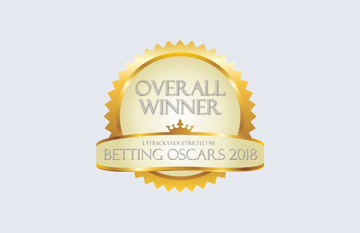 2018 Betting System Oscars: Overall Winner